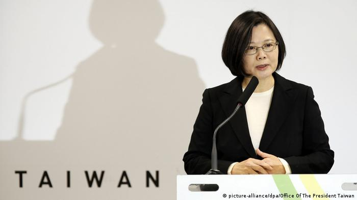 Taiwan Präsidentin Tsai Ing-wen (picture-alliance/dpa/Office Of The President Taiwan)