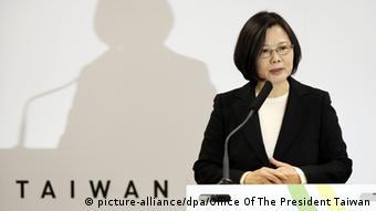 Tsai Ing-wen, chinakritische Präsidentin von Taiwan (Foto: Reuters)