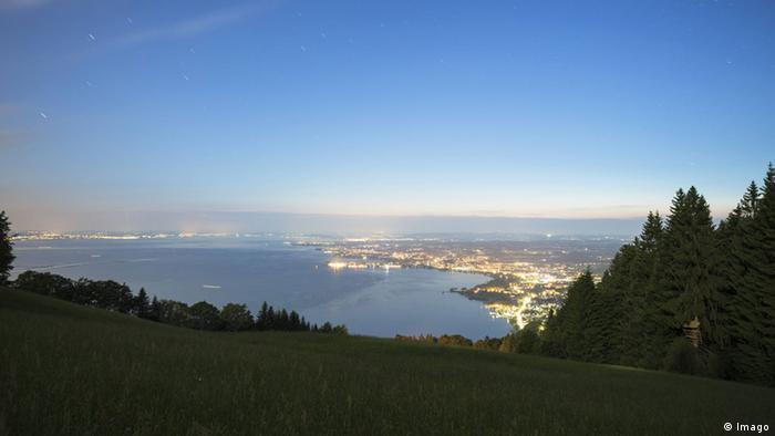Vista da montanha Pfänder