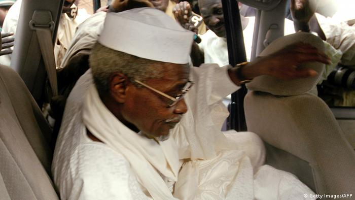 Chadian dictator Hissene Habre