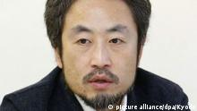 23.6.2015 *** ©Kyodo/MAXPPP - 17/03/2016 ; Undated photo shows Japanese freelance journalist Jumpei Yasuda, 42, who went missing in Syria in June 2015. A video, in which a man resembling him reads a message in English to his family and the Japanese government, was posted on Facebook on March 16, 2016, indicating he is being held hostage by militants in the country. (Kyodo) ==Kyodo Copyright: picture alliance/dpa/Kyodo
