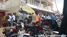 DW Akademie Training in Uganda Bodo Boda