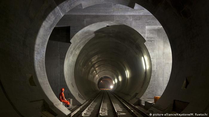 World's longest rail tunnel opens in Switzerland