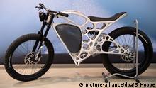 Deutschland Elektromotorrad aus dem 3D-Drucker in Ottobrunn
