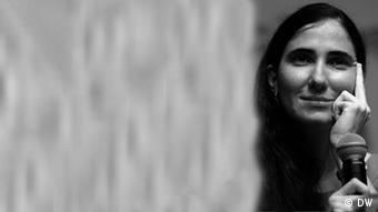 Yoani Sánchez, bloguera disidente, periodista y activista.