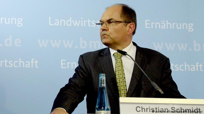 Christian Schmidt Milchgipfel Berlin Deutschland
