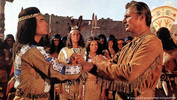 Winnetou i Old Shatterhand (picture alliance/United Archives/IFTN)