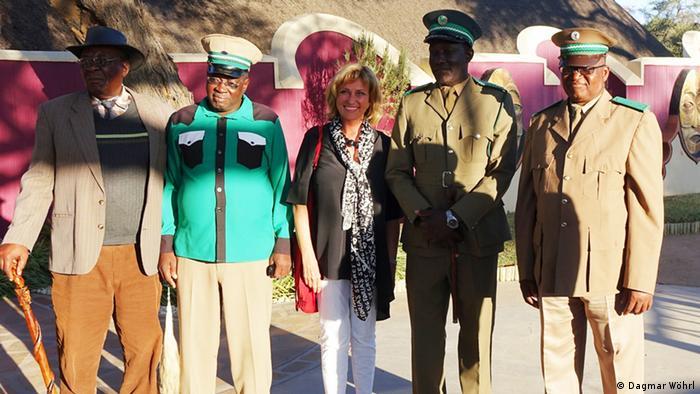 Namibia Vorsitzende des Entwicklungsausschusses Dagmar Wöhrl (Dagmar Wöhrl)