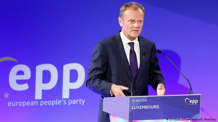 Donald Tusk EPP Luxemburg (picture-alliance/dpa/C.Mathieu)