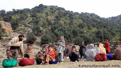 Afghanistan Flucht vor Kämpfen in Kunar
