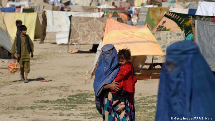 Afghanistan Flüchtlingslager in Kundus (Getty Images/AFP/S. Marai)