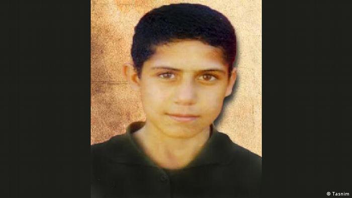 محمدرضا حدادی، نوجوان محکوم به اعدام