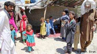 Afghanistan Flüchtlinge in Helmand und Kabul (Foto: DW/H. Sirat)