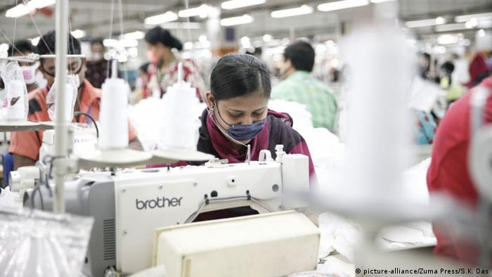 Textile workers in Bangladesh