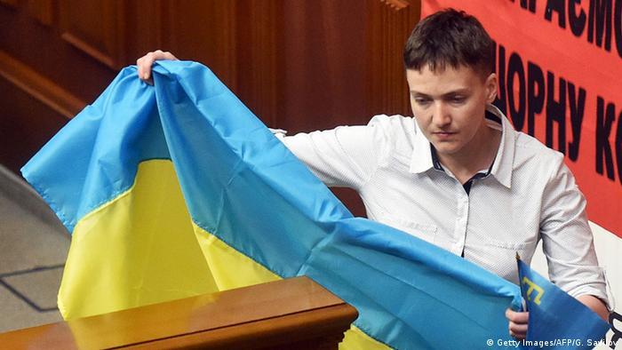 Якщо буде потрібно, то Надія Савченко готова обійняти й президентську посаду