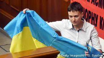 Ukraine Parlament Nadeschda Sawtschenko