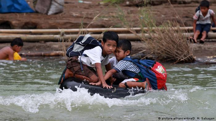 Philippinen Gefährliche Schulwege
