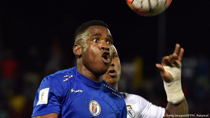 Haiti Fußball Nationalmannschaft Kervens Belfort