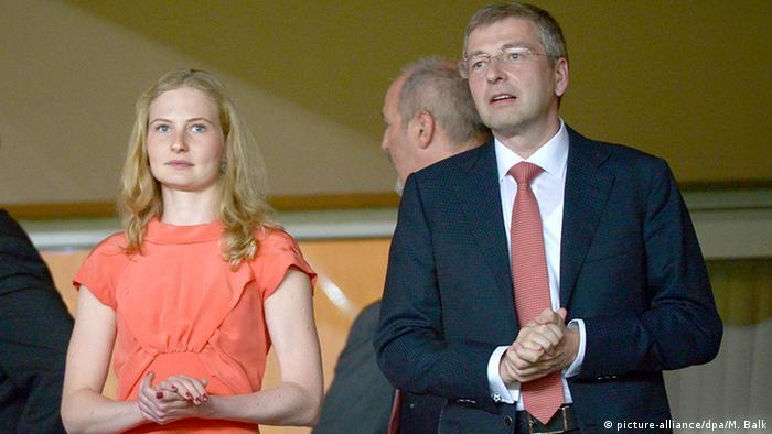 Dmitry Rybolovlev mit Tochter Ekaterina