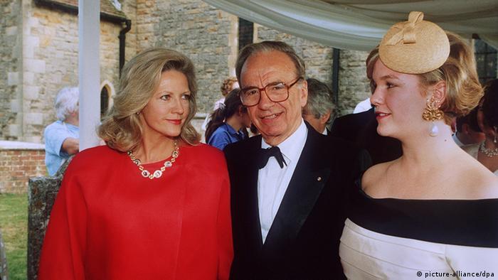 Rupert Murdoch mit Ehefrau Anna