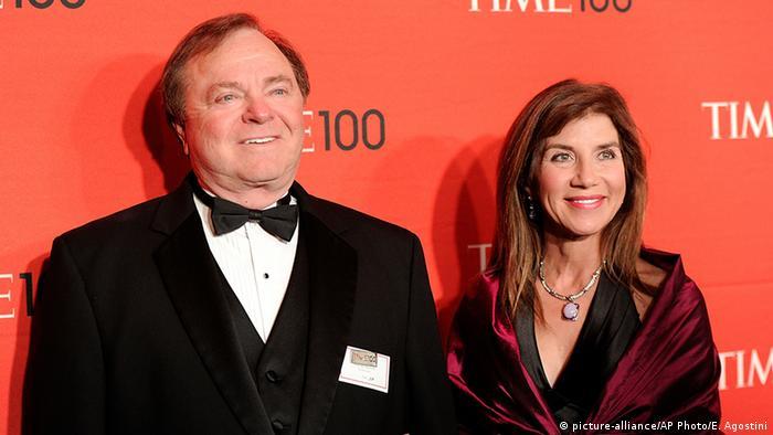 Harold Hamm mit Ehefrau Sue Ann