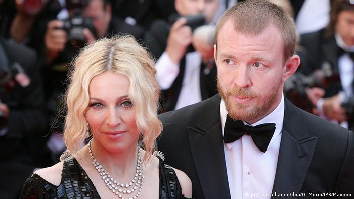Madonna mit Ehemann Guy Richie