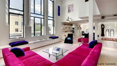 Apartment in Westbourne Grove Church in London's Notting Hill, Copyright: Carlo Carossio