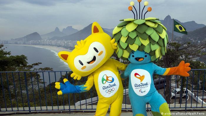 Rio de Janeiro 2016 Maskottchen Olympische Spiele