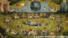 Hieronymus Bosch Garten der Lüste Detail Madrid Spanien