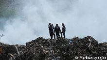 Lemberg brennende Mülldeponie
