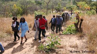 Mosambik Parlamentsausschuss Massengrab