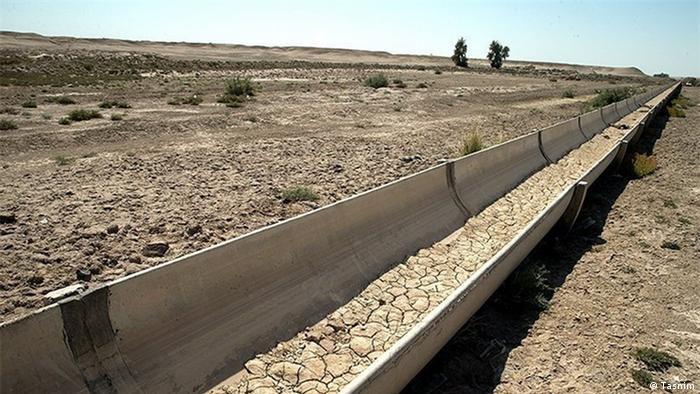 تصویر نمادین خشکسالی در ایران
