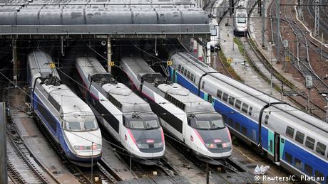DW: Επιτυχία Μακρόν η μεταρρύθμιση των σιδηροδρόμων