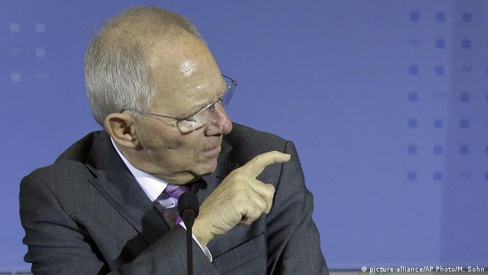 Der deutsche Finanzminister Wolfgang Schäuble, 05.02.2015 (Foto: picture-alliance/AP)
