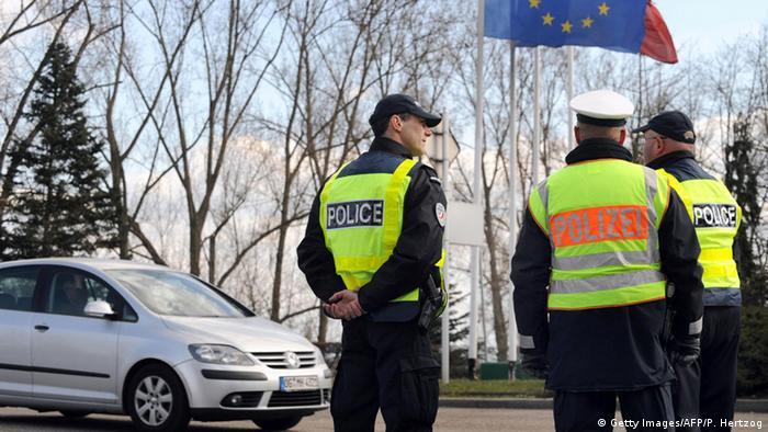 Grenzkontrolle Frankreich