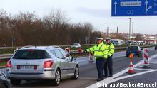 Deutschland Frankreich Grenzkontrolle Bundespolizei