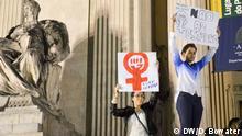 Brasilien Protest gegen Vergewaltigung
