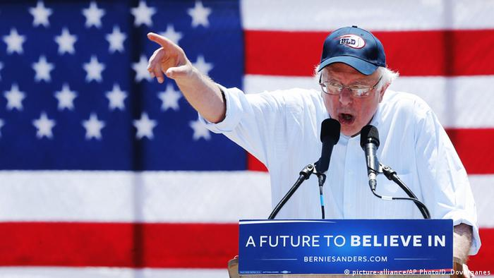 USA Cathedral City Bernie Sanders in Kalifornien