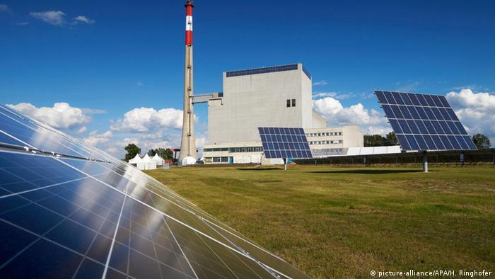 Österreich Zwentendorf Kernkraftwerk