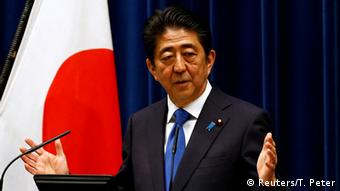 Japan PK Shinzo Abe