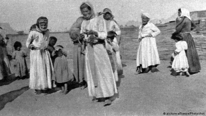 Αρμένιοι πρόσφυγες, 1915
