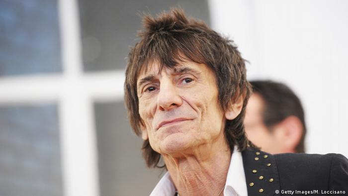 Usa New York Ron Wood Copyright: Getty Images/M. Loccisano
