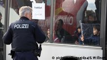 Flughafen Leipzig-Halle Abschiebung abgelehnter Asylbewerber