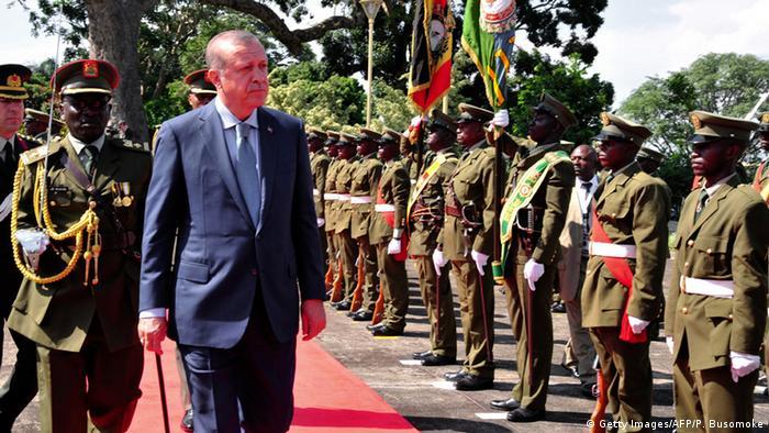 Afrka Uganda Erdogan