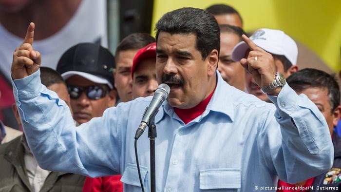 Venezuela Caracas Präsident Nicolas Maduro
