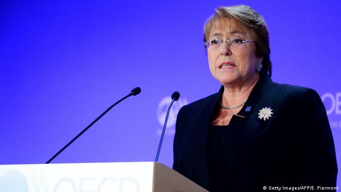 Frankreich Paris Michelle Bachelet