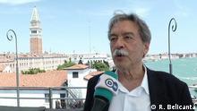 ***ACHTUNG: Nur im Zusammenhang mit der Sendung Camarote.21 nutzen!*** Beschreibung: Interview mit Paulo Mendes da Rocha, brasilianische Architekt, in Venedig. Copyright: R. Belicanta