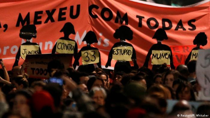 No Brasil, 29% das mulheres em idade adulta afirmam ter sofrido algum tipo de violência física, verbal ou psicológica