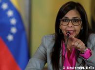 Министр иностранных дел Венесуэлы Дельси Родригес