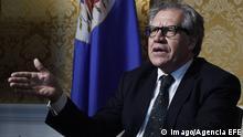 USA Generalsekretär der OAS Luis Almagro